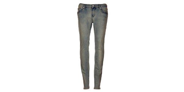 Bledo-modré úzke džínsy Tommy Hilfiger