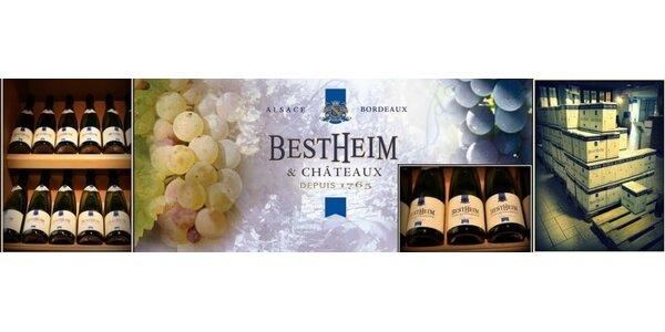 Francúzske vína z oblasti Alsaska ! Bestheim je 250 ročná tradícia !
