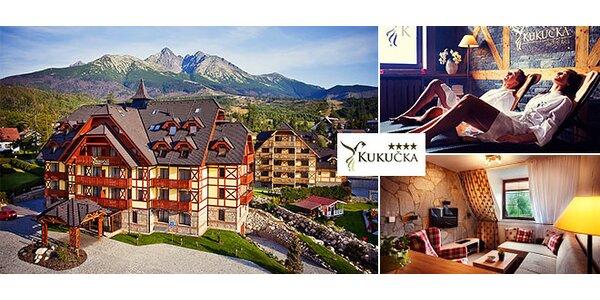 Luxusný Hotel Kukučka**** a vstup do Aquacity Poprad