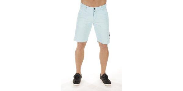 Pánske svetlo modré šortky Bendorff