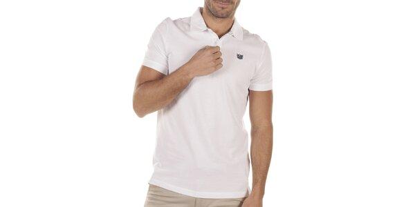Pánske biele polo tričko Bendorff