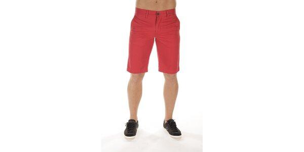 Pánske červené šortky Bendorff