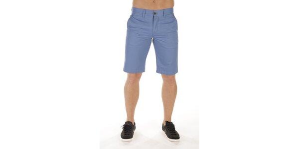 Pánske blankytno modré šortky Bendorff
