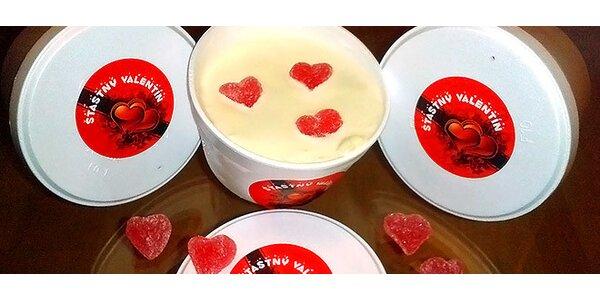 Valentínska zmrzlina z talianskych surovín