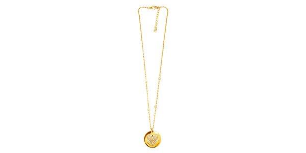 Dámsky oceľový náhrdelník Cerruti 1881