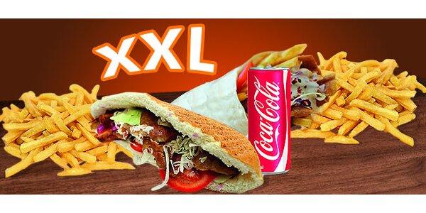 XXL Kebab alebo Twister menu