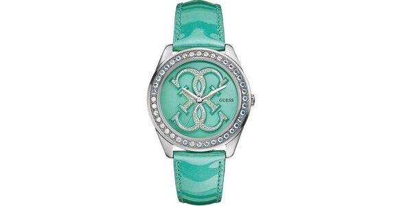 Dámske tyrkysové hodinky Guess