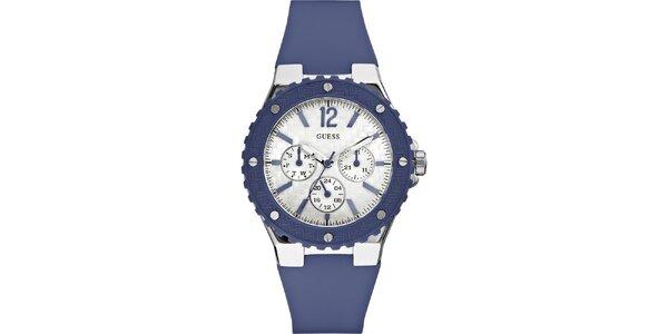 Pánske modré náramkové hodinky Guess