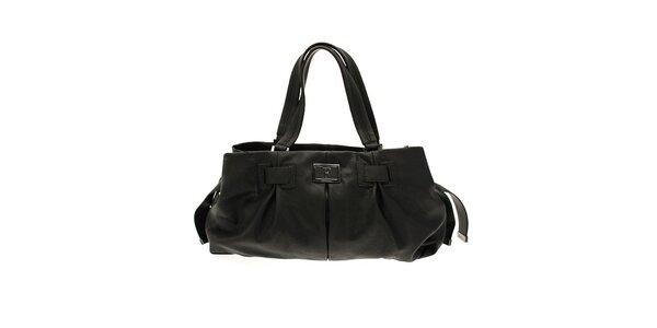 Čierna podlhovastá kabelka Ferré