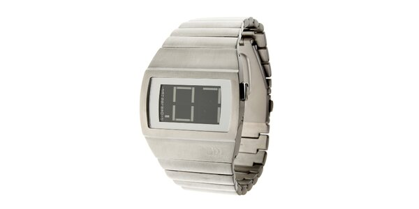 Pánske oceľové digitálne hodinky Danish Design