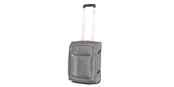 Malý šedý cestovný kufor Ravizzoni