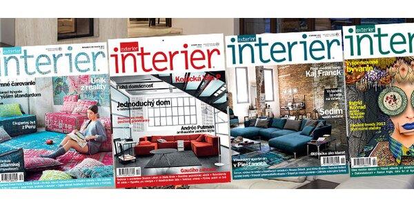 Polročné predplatné časopisu INTERIER/EXTERIER