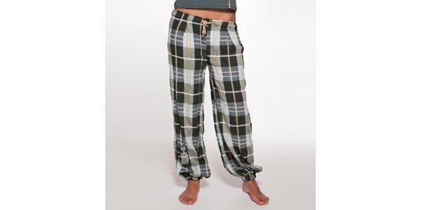 Dámske voľné kockované nohavice Ian Mosh