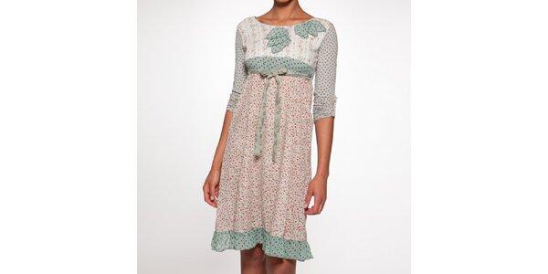 Dámske šaty s kvetinovým vzorom Ian Mosh