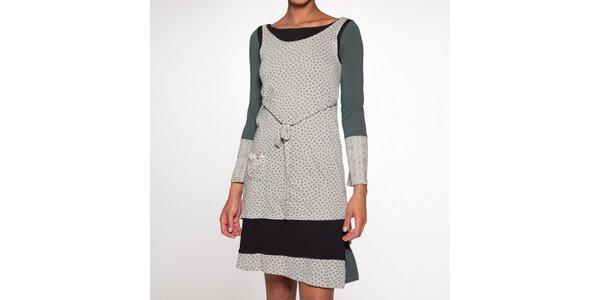 Dámske šaty s bodkami Ian Mosh