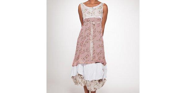 Dámske dlhé šaty s vrstvenou sukňou Ian Mosh