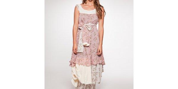 Dámske dlhé šaty s mašľou v páse Ian Mosh