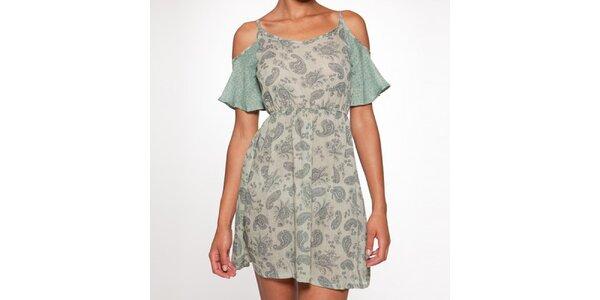 Dámske krátke zelené šaty Ian Mosh