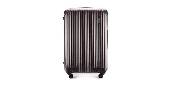 Veľký šedý cestovný kufor Wittchen