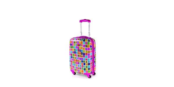 Menší farebný kufor Agatha Ruiz de la Prada