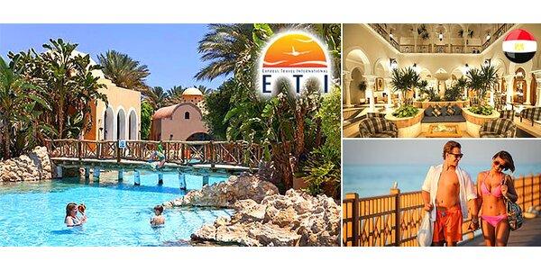 Luxusná all inclusive dovolenka v Egypte