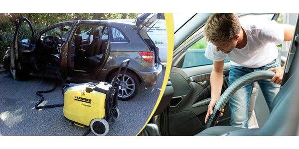 Kompletné tepovanie vášho auta pre čistý a voňavý interiér v pohodlí vášho…