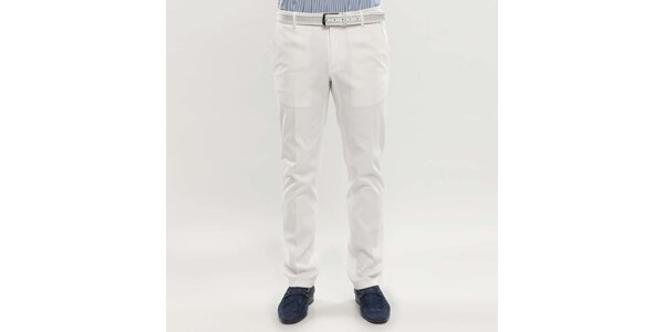 Pánske biele nohavice Blažek
