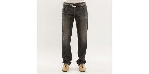 Pánske tmavo šedé džínsy Blažek