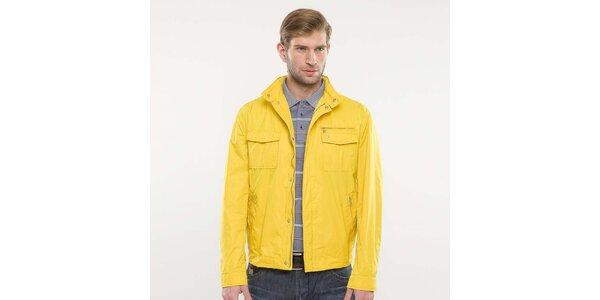 Pánska žltá bunda Blažek