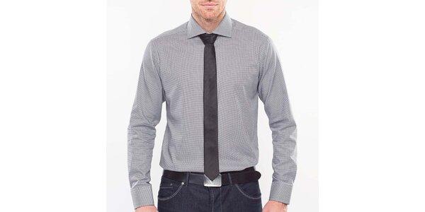 Pánska čierno-biela pepito košeľa Blažek