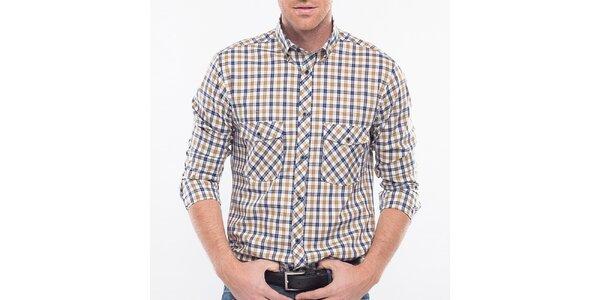 Pánska kockovaná košeľa Blažek