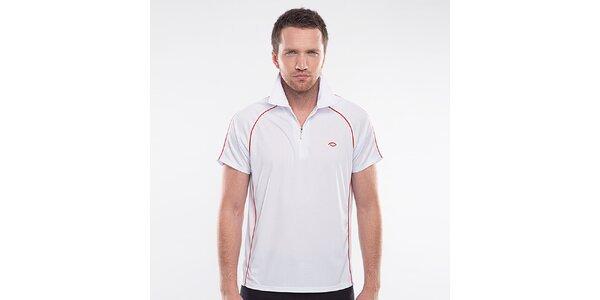 Pánske biele športové tričko Blažek