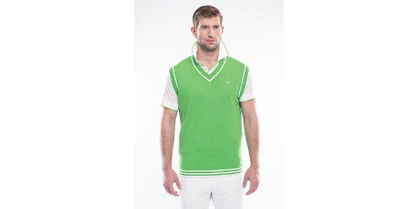 Pánska zelená vesta Blažek