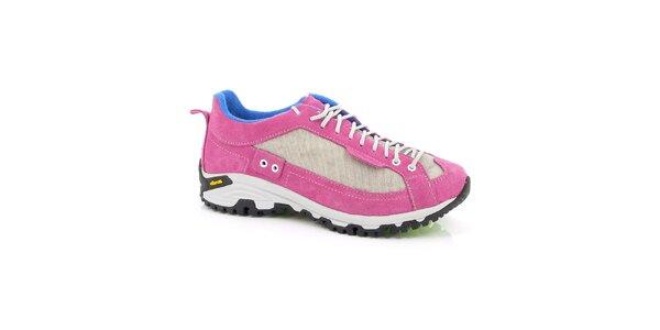 Dámske ružovo-modré športové topánky Kimberfeel