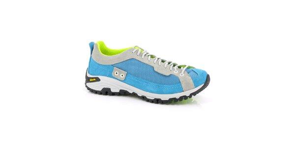 Unisex tyrkysovo-neonové športové topánky Kimberfeel