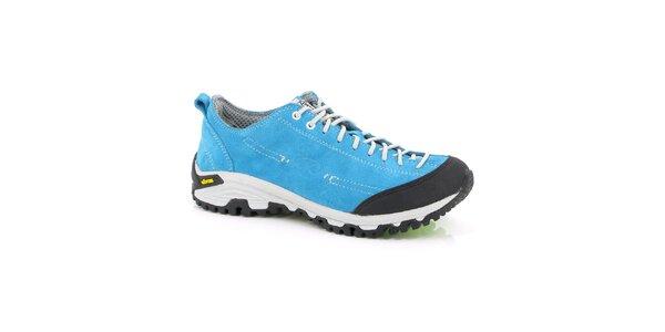 Unisex nízke tyrkysové outdoorové topánky Kimberfeel