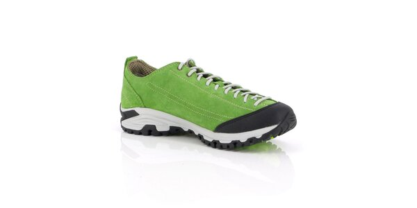 Unisex nízke zelené outdoorové topánky Kimberfeel