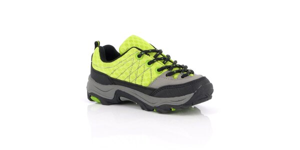 Dámske žlté topánky s prešívaním Kimberfeel