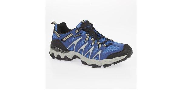 Pánske nízke modré outdoorové topánky Kimberfeel