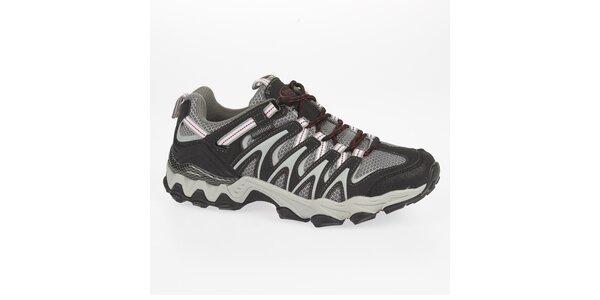 Pánske nízke šedé outdoorové topánky Kimberfeel