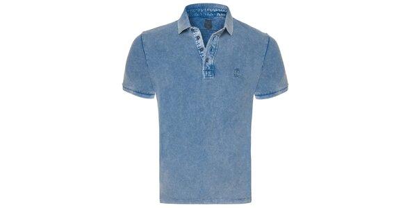 Pánske modré polo tričko Me Da Igual