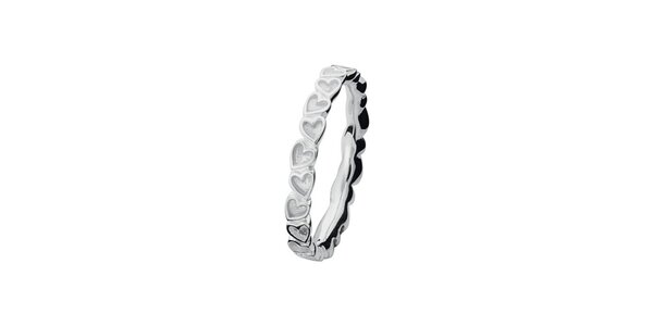 Dámsky srdcový prsteň Spinning