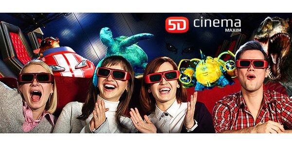 Vstup do vzrušujúceho 5D kina