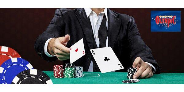 Balík žetónov do kasína alebo škola pokru