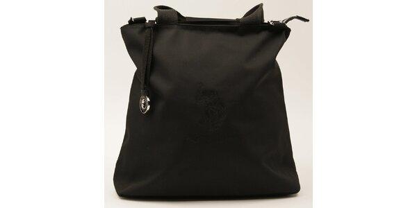 Dámska obdĺžniková čierna kabelka U.S. Polo