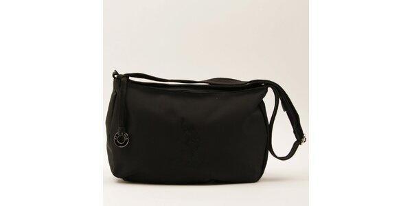 Dámska čierna kabelka s popruhom U.S. Polo