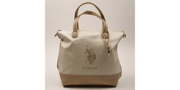Dámska kabelka s béžovými ušami U.S. Polo