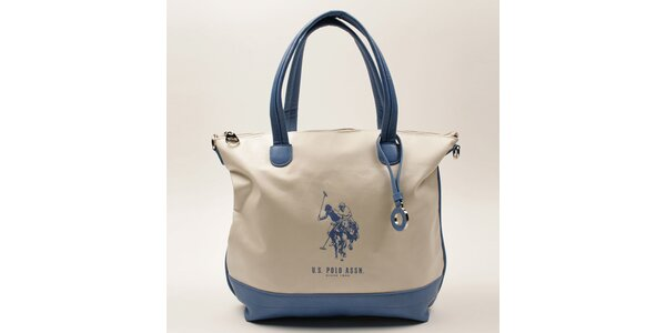 Dámska kabelka s modrými ušami U.S. Polo