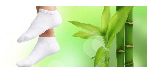 12 párov bambusovo-bavlnených ponožiek