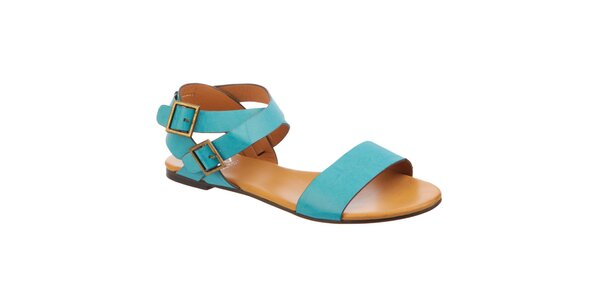 Dámske tyrkysové sandále Betsy